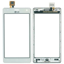 Original LG Optimus 4x HD P880 Touchscreen Glas Scheibe + Rahmen, weiß