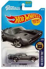 2017 Hot Wheels #266 HW Screen Time Ice Charger The Fate of the Furious
