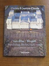 SIGNED - CHRISTO & JEAN-CLAUDE Reichstag, Berlin 1971-1995 TASCHEN - art - fine