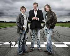 Top Gear Group Signed 8X10 Photo Rp Jeremy Clarkson Richard Hammond James May