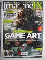 CREATE DYNAMIC GAME ART ImagineFX #89 AND LOADED DVD!  FANTASY FIGURES++