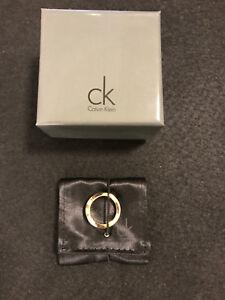 Calvin Klein Bicolor Edelstahl Ring, Silber/Rose, Neuwertig!