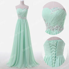 Purple/Blue Long Ball Gown Wedding Evening Cocktail Prom Party Formal Maxi Dress