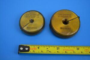 "Horstmann UNF 2A Thread Ring Gauges 1/4"" 3/8"" Wax Coated, Select:"