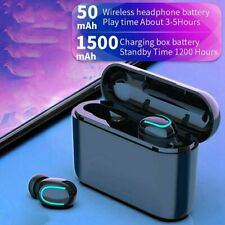 Bluetooth 5.0 True Wireless Touch Mini Earbuds Headphone Headset Ipx7 Waterproof