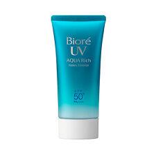 Kao Biore UV Aqua Rich Watery Essence Sunscreen SPF50+ PA++++ 50g 2017 US Seller