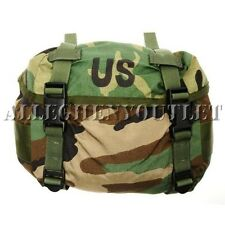 US Army Military Camo Fanny Small Butt Pack Training Backpack Woodland Waist Bag