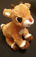 """Commonwealth Rudolph the Red Nosed Reindeer 11"""" Plush Christmas Misfit Toys 2005"""