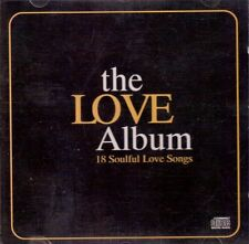 THE LOVE ALBUM - 18 SOULFUL LOVE SONGS - Gloria Gaynor etc - CD - 1995  F/S