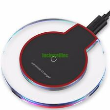 Slim Qi Wireless Charger Charging Pad for Samsung Galaxy Note 5 S7 S6 Plus Edge
