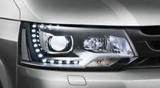 VW T5 LED / Halogen headlights Chrome VOLKSWAGEN TRANSPORTER CARAVELLE 2010 2015