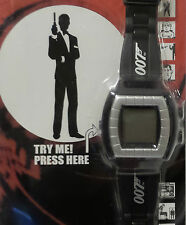 JAMES BOND : ANIMATED TALKING WATCH MADE BY ZEON IN 2000 (TK)