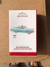 Hallmark Ornament 2013 Classic American Cars 1955 Ford Fairlane Crown Victoria