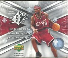 2005-06 SPx Basketball Factory Sealed Hobby Box Chris Paul AUTO JERSEY RC  ??