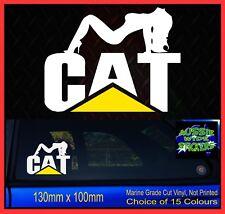 CAT CHICK Caterpillar Stickers Decal Sexy Car Ute Truck 4x4 130mm