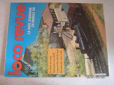 **aa Loco Revue n°412 L'EAD 330 kW Jouef / mesure de la vitesse des trains