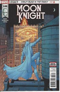Moon Knight #188 First Print Legacy