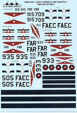 Bay of Pigs 1/72nd scale decals