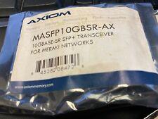 Axiom Meraki 10 Gigabit SR SFP+ Transceiver Module MASFP10GBSR-AX ✅❤️️✅❤️️ NEW