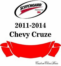 3M Scotchgard Paint Protection Film Clear Bra Pre-Cut Kits 2011 2014 Chevy Cruze