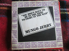 "Mungo Jerry  You Don't Have To Be In The Army DNX2513UK Vinyl 7"" 45 Maxi-Single"