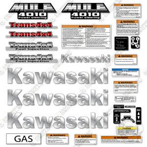 Kawasaki Mule 4010 Decal Kit utility Vehicle - Aftermarket 7 Year 3M Vinyl Kit!