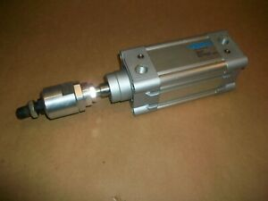 Festo Pneumatic Cylinder DNC-63-50-P-A  w/ Floating Rod End   USED