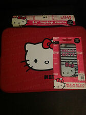 Lot of 2 Hello Kitty Laptop Sleeve and i Phone 5 Case