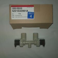 LG WASHING MACHINE DUAL WATER INLET VALVE GENUINE (5221EA2001A)