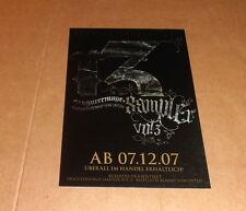 Bushido + FLER, original signierte/signed AK/Postcard in 10x15 cm (5x7)