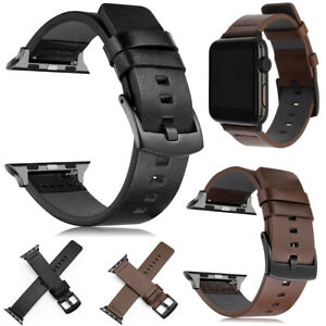 Leather Wrist Band Soft Strap For Apple Watch SE 40mm / 44mm