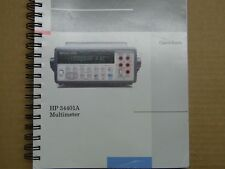 manuel User's guide pour HP 34401A multimeter (en anglais)