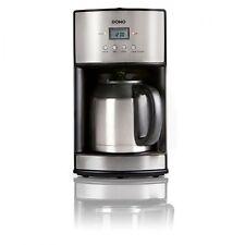 Domo DO474K Filterkaffeemaschine mit Thermoskanne Edelstahl