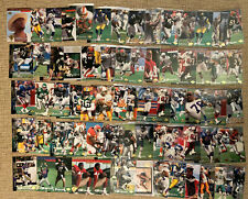 1994 Upper Deck Electric Silver Parallel 68 Card Lot With Rookies RCs Football