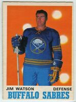 1970-71 O-Pee-Chee #144 Jim Watson EX-NM - SET BREAK (112919-23)