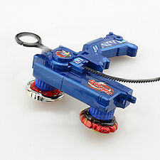 Anime METAL FUSION Blue Hybrid Wheel Fighting Attack Double Launcher +2 Beyblade