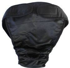 Reusable Dog Diaper - Black XXL -for Males and Females over 55lbs