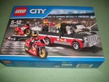 LEGO WEIHNACHTEN CITY MOTORRAD TRANSPORT TRUCK 60084 NEU&FABRIKFRISCH OVP