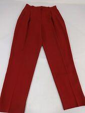 Garfield & Marks Neiman Marcus Femmes Rouge Brique Acétate Robe Pantalon Taille