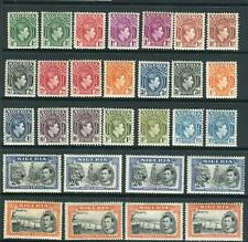 NIGERIA-1936 A mounted mint set to £1 Sg 34-45