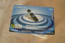 Linksys Dual Band Wireless-N USB Adapter WUSB600N