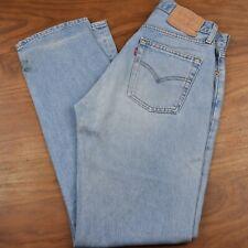 """De colección Levi's 517 Jeans Denim LENGÜETA ROJA-W31"""" X L34"""" #61 Excelente Estado"""