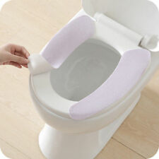 2Pcs Badezimmer Wc-Seat Closes Waschbar Weiche Wärmer Abdeckung Matte Polster