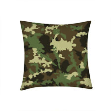 Camouflage Camo Cushion Cover Home Car Sofa Decor Throw Pillowcase Personalized