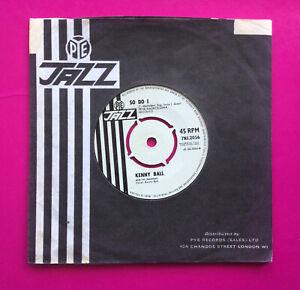 "E633, So Do I, Kenny Ball, 7""45rpm Single, Excellent Condition"