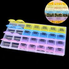 Plástico Colorido 28 Ranuras caja almacenamiento de joyas  Joyería