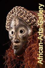 54290  Seltene Helmmaske der Dan Liberia Afrika