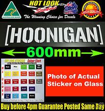 HOONIGAN KEN BLOCK STICKER Bomb 600mm Suit JDM EDM Rally TURBO DRIFT Motorsport