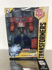 Transformers Cyberverse Matrix Mega Shot Optimus Prime Ultimate Class New Sealed