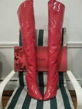 """SALE Men's size 11 wmn's 13 Pleaser USA 5"""" High Heel Thigh High Boots SED-3000"""